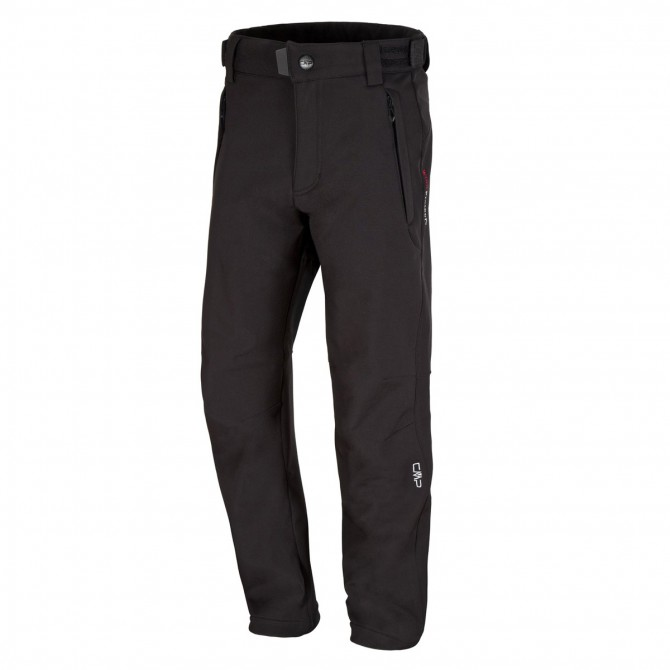 Pantalone soft-shell Cmp Junior nero