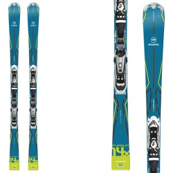 ski Rossignol Pursuit 14 X + fixations Xelium 110 B73