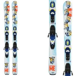 Esquí Rossignol Minions (104- 140) + fijaciones Kid-X 45 B76