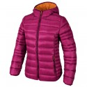 Hooded down jacket Cmp Woman fuchsia