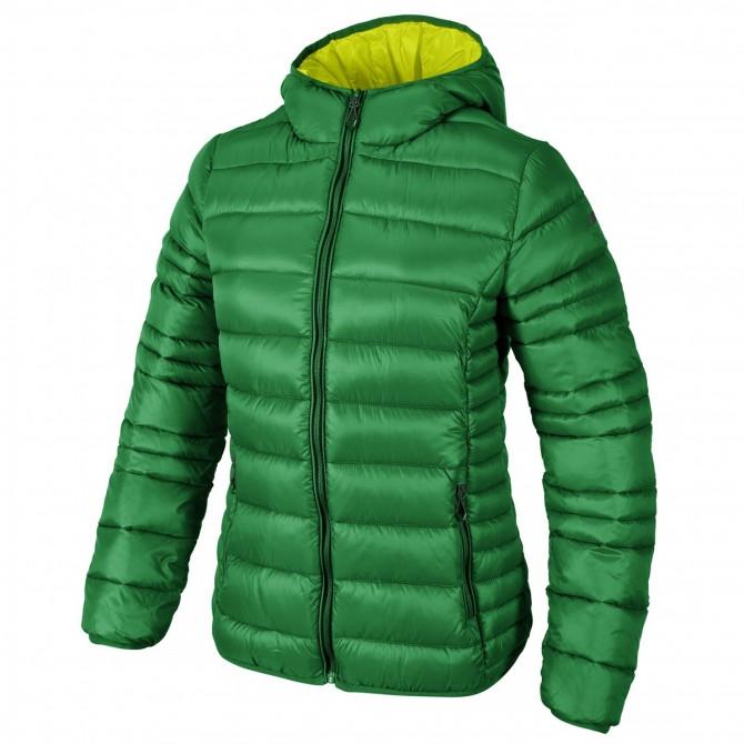 Piumino Cmp con cappuccio Donna verde