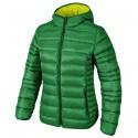 Chaqueta de pluma con capucha Cmp Mujer verde