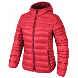 Hooded down jacket Cmp Woman red