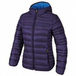 Hooded down jacket Cmp Woman purple