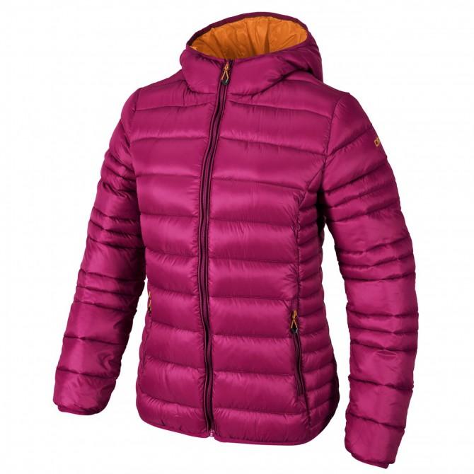 Hooded down jacket Cmp Girl fuchsia