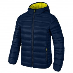 Hooded down jacket Cmp Girl blue