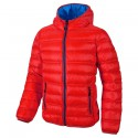 Hooded down jacket Cmp Junior red