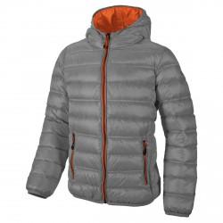 Hooded down jacket Cmp Junior grey