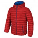 Hooded down jacket Cmp Man red