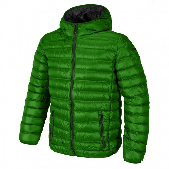 Doudoune avec capuche Cmp Homme vert