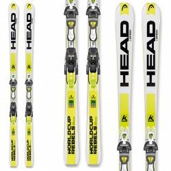 Sci Head WC Rebels iSpeed + attacchi freeflex Pro14