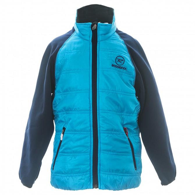 Piumino Rossignol Clim light Junior azzurro-blu