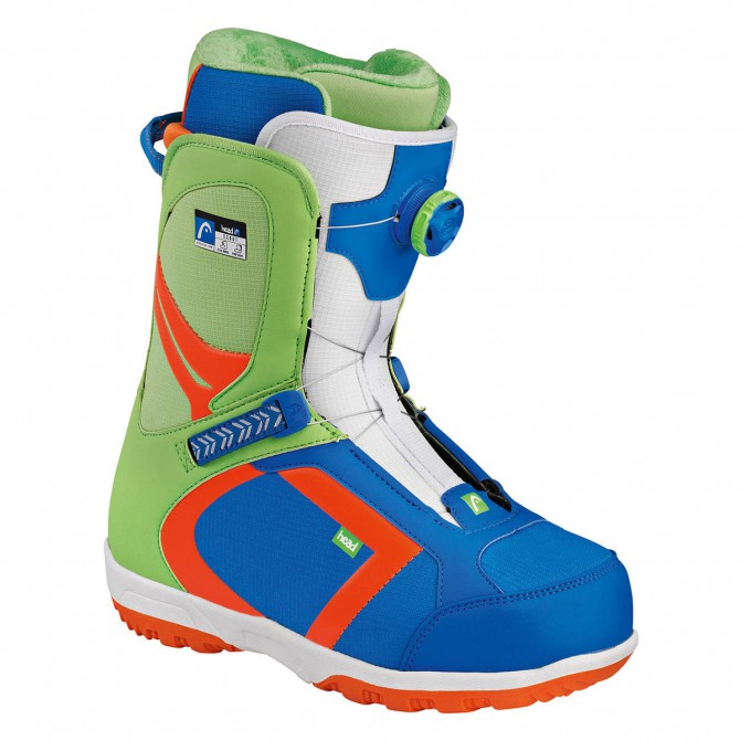 Scarpe snow Head Scout Pro Boa blu-verde
