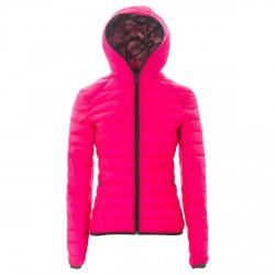 Piumino Neon Evo Donna rosa