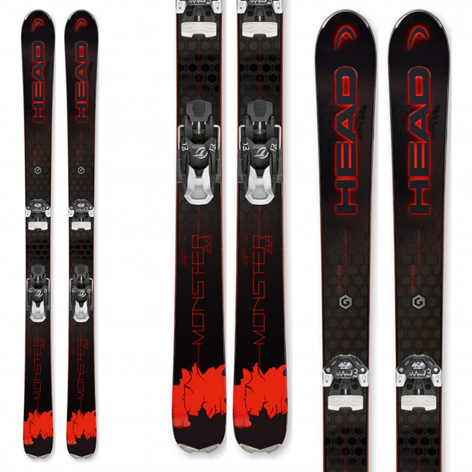 Esqui Head Monster 88 Ti + Fijaciones Peak 15