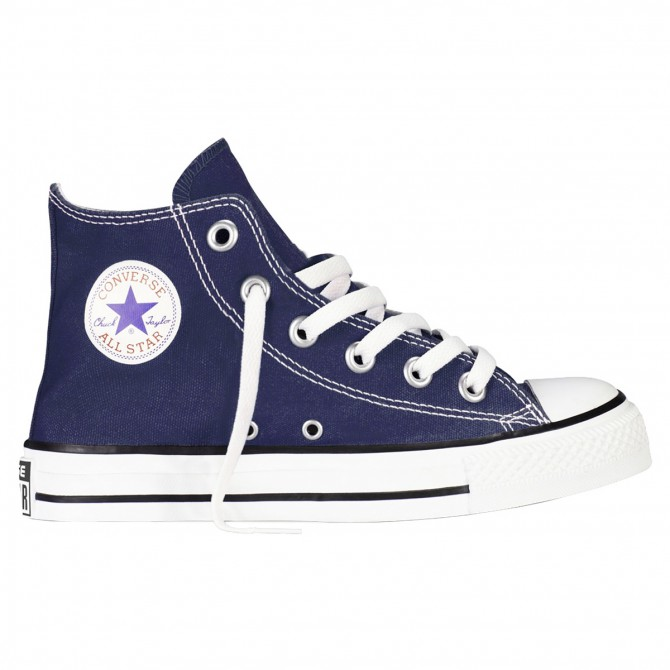 Sneakers Converse All Star Hi Canvas Junior blu CONVERSE Scarpe sportive
