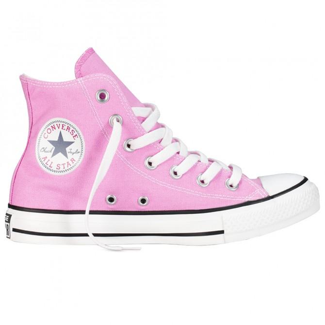 Sneakers Converse All Star Hi Canvas Seasonal Mujer rosa