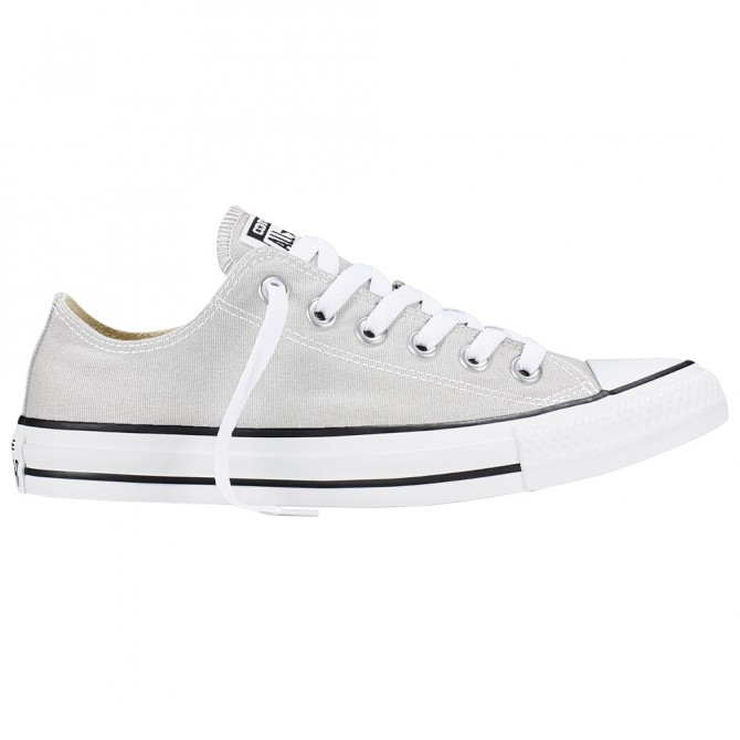 Sneakers Converse All Star Ox Canvas Seasonal Mujer gris