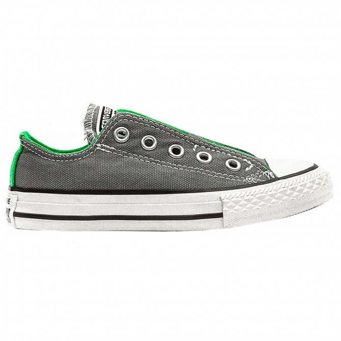 Sneakers Converse Ct As Ox Canvas Junior gris