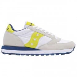 Sneakers Saucony Jazz Original Woman white-yellow