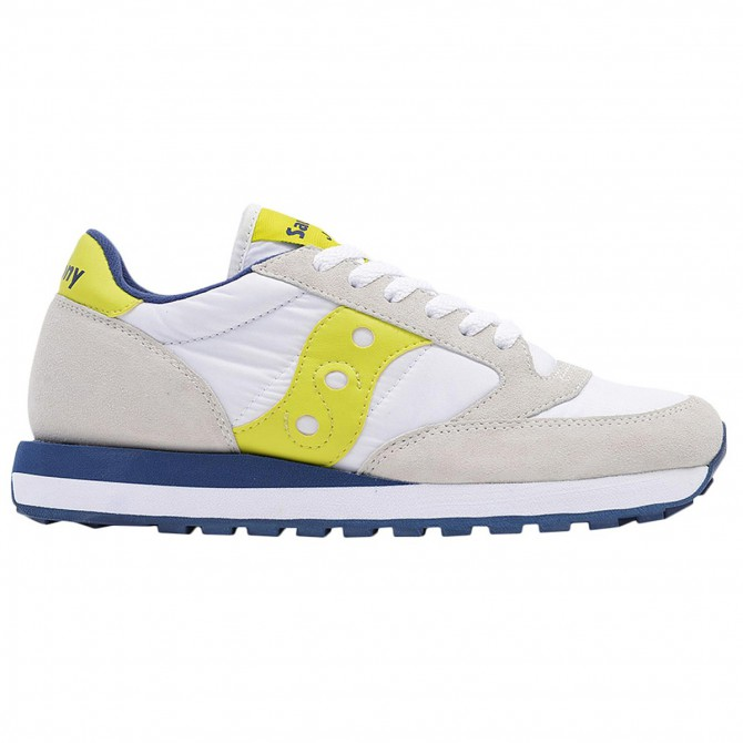 Sneakers Saucony Jazz Original Donna bianco-giallo