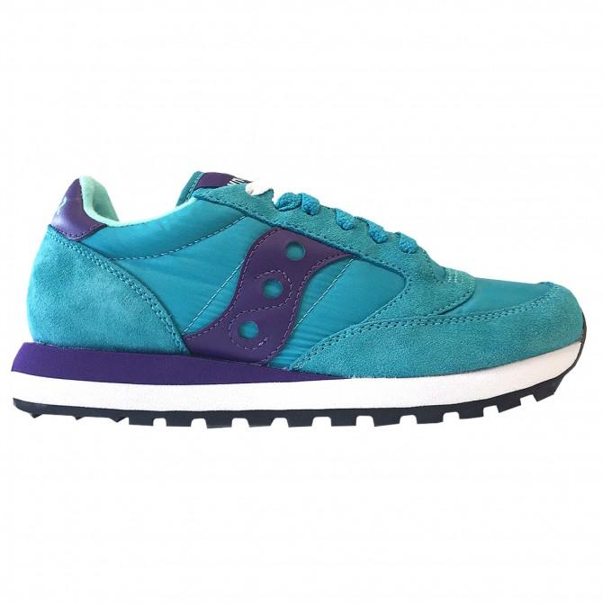 Sneakers Saucony Jazz Original Woman loght blue-purple