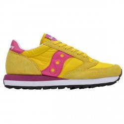 Sneakers Saucony Jazz Original Femme jaune-violet