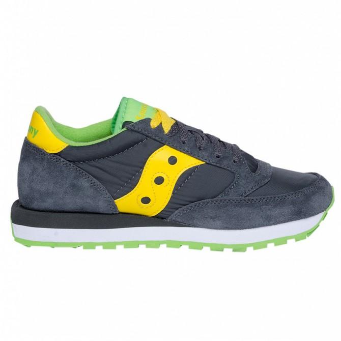 Sneakers Saucony Jazz Original Homme gris-jaune