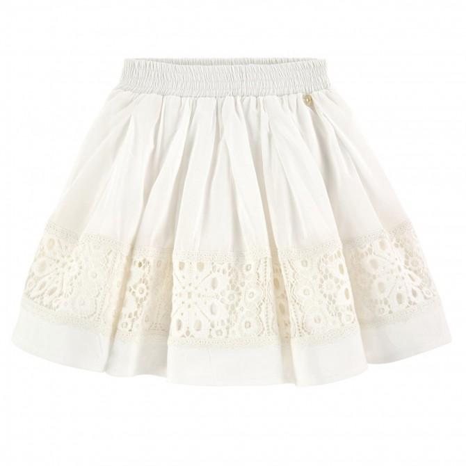 Falda Twin-Set Niña blanco