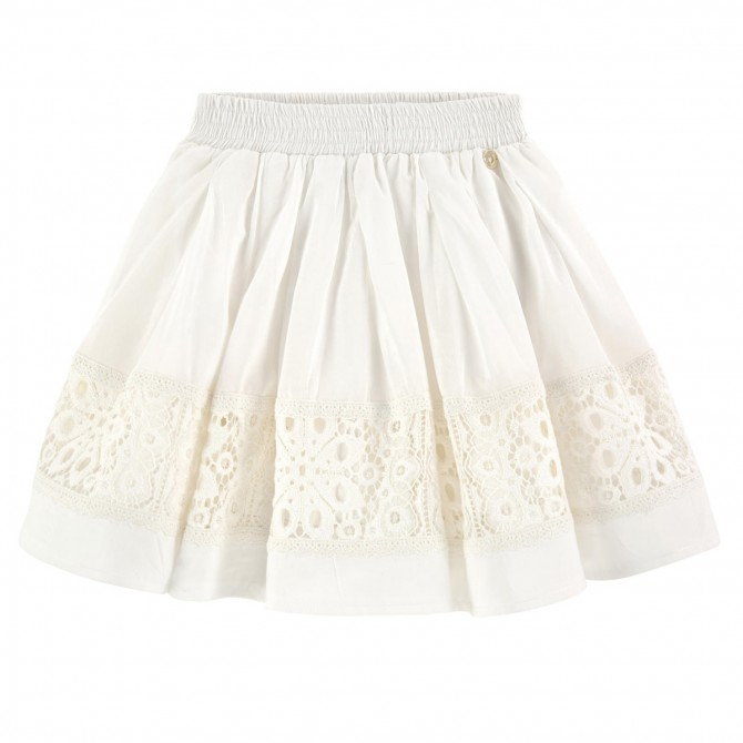 Skirt Twin-Set Girl white
