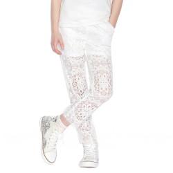 Pantalon dentelle Twin-Set Fille
