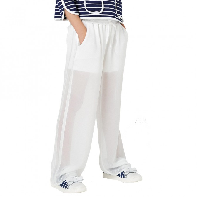 Pants Twin-Set Girl white