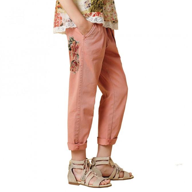 Pantalon jeans Twin-Set Fille