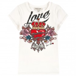 T-shirt Twin-Set Fille Love