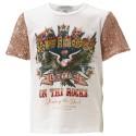T-shirt Twin-Set Ragazza con paillettes