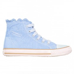 Sneakers Twin-Set Girl light blue (28-34)