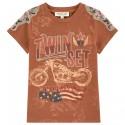 T-shirt Twin-Set Ragazza marrone