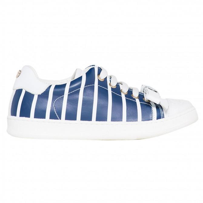 Sneakers Twin-Set Niña azul-blanco (35-40)