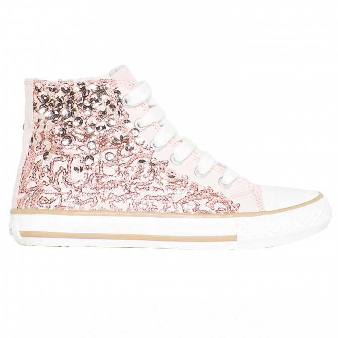 Sneakers Twin-Set Fille rose (35-40)