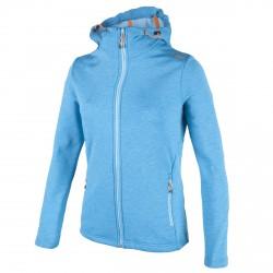 Jersey Cmp Mujer con capucha azul
