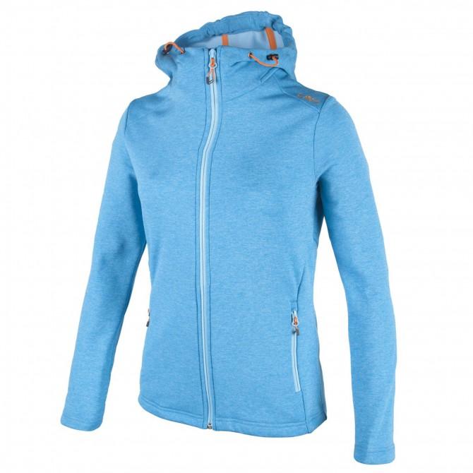 Pullover Cmp Femme avec capuche bleu clair