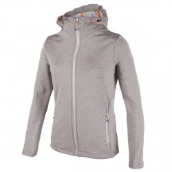 Jersey Cmp Mujer con capucha gris