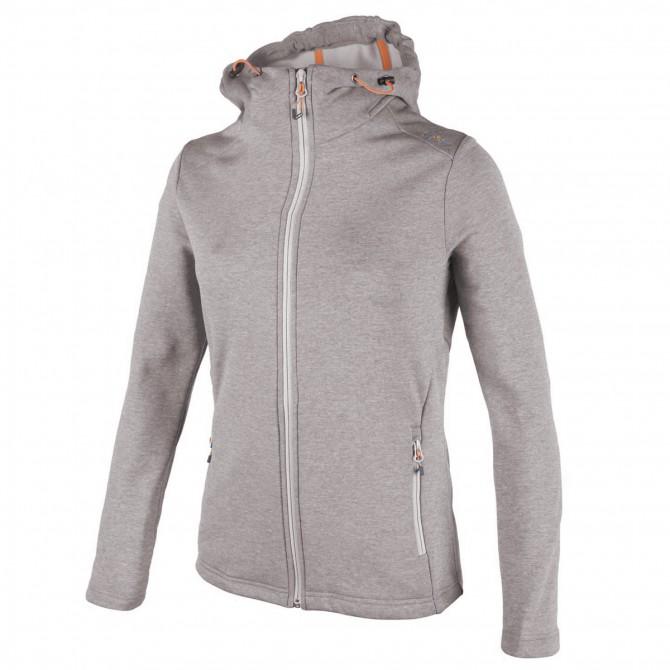 Pullover Cmp Femme avec capuche gris