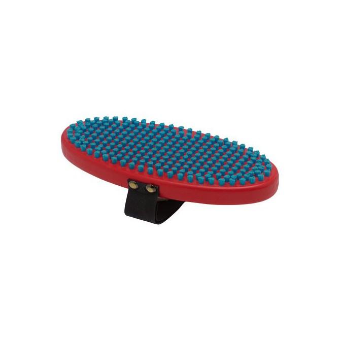 Spazzola Swix ovale nylon blu unico