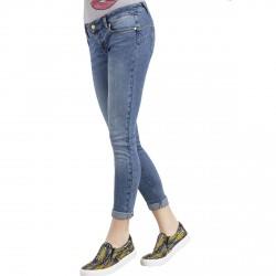 Jeans Liu-Jo Bottom Up Fabulous Low Waist Donna blu chiaro