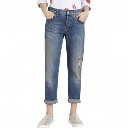 Jeans Liu-Jo Boy Prestige Regular Waist Mujer