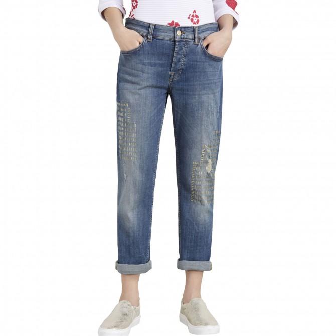Jeans Liu-Jo Boy Prestige Regular Waist Femme