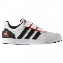 Sneakers Adidas Lk Trainer 7 Junior blanc-noir (28-38)