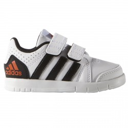 Sneakers Adidas Lk Trainer 7 Junior bianco-nero (mis. 21-27)