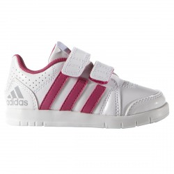 Sneakers Adidas Lk Trainer 7 Girl bianco-rosa (mis. 21-27)